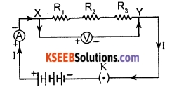 KSEEB Class 10 Science Important Questions Chapter 12 Electricity 27