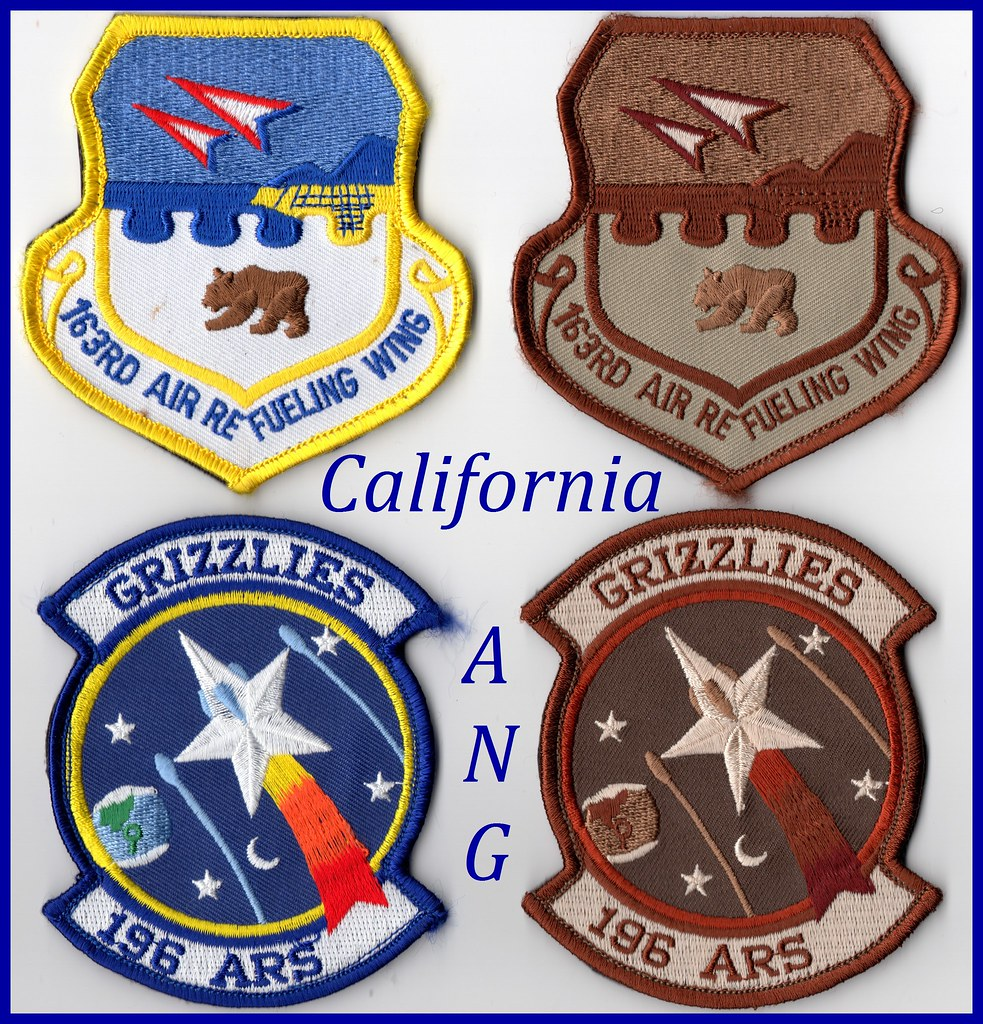 USAF Patch - 163rd Air Refueling Wing / 196th Air Refuelin…   Flickr