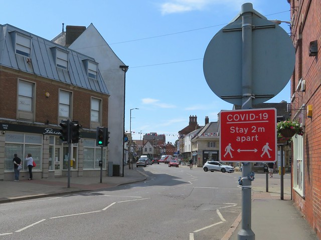 I am Sure Rutland County Council and Oakham Town Council will hoping they have not wasted european union money after putting up all these signs all over the town centre Yesterday