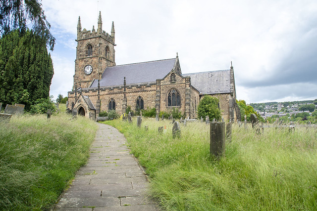 St Giles' Church, Old Matlock, Derbyshire