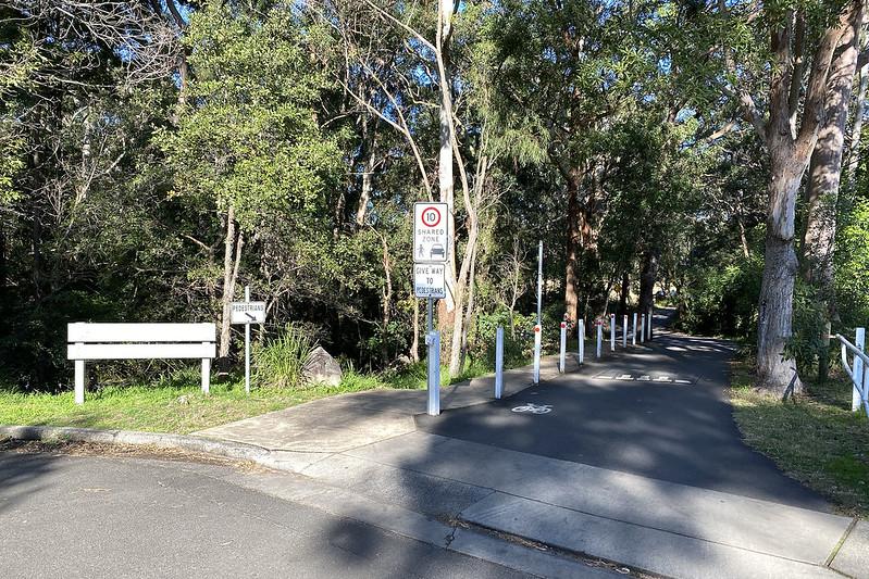 Artarmon Reserve entry