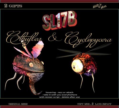 Lilith's Den - Cthuflea & Cyclopcyera [SL17B] Gifts