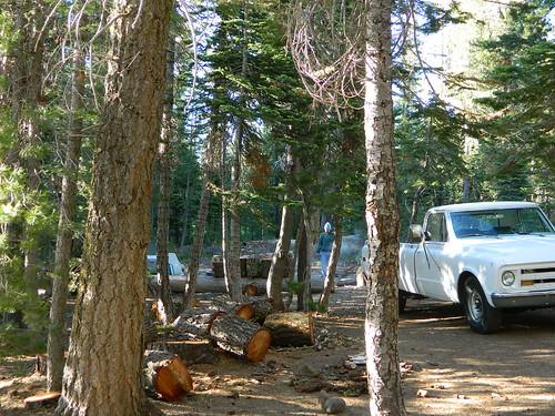 GMC Truck Camping
