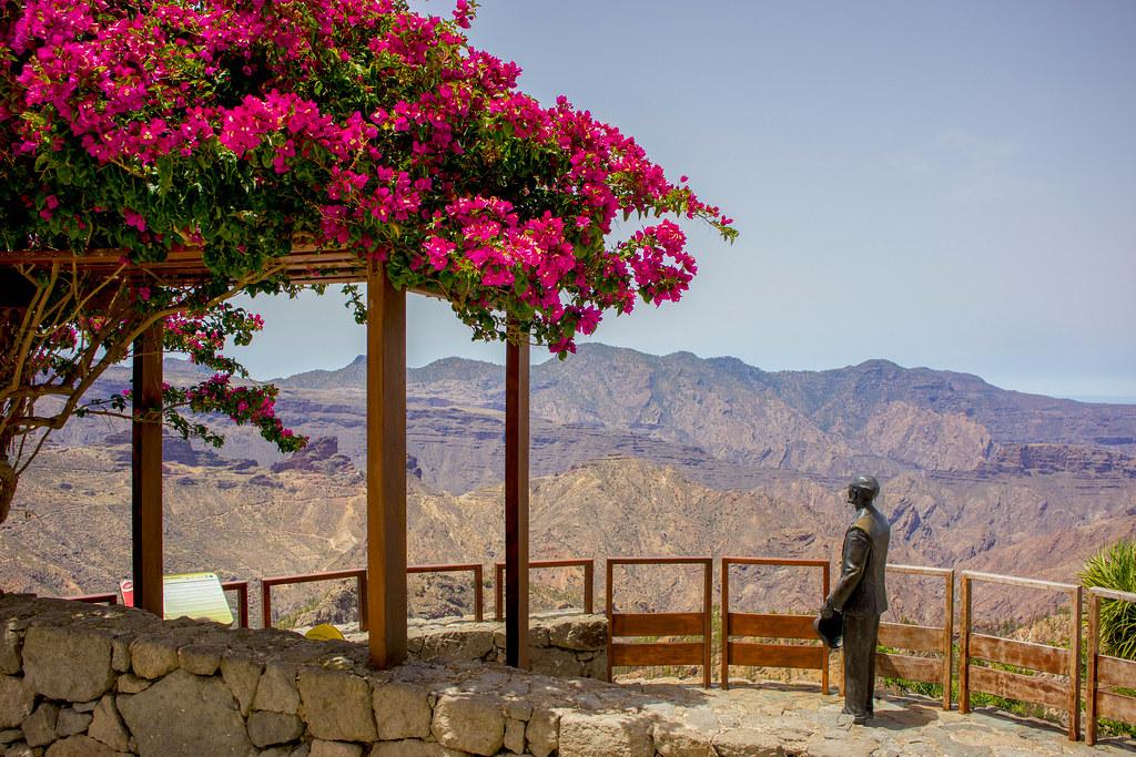 Mirador de Unamuno en Gran Canaria