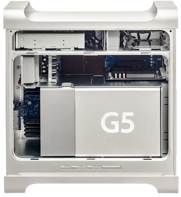Un Apple G5 sous PowerPC