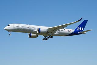 "F-WZFM / SE-RSD ""Halvard Viking"" - Airbus A350-941 - SAS Scandinavian Airlines - msn 418"