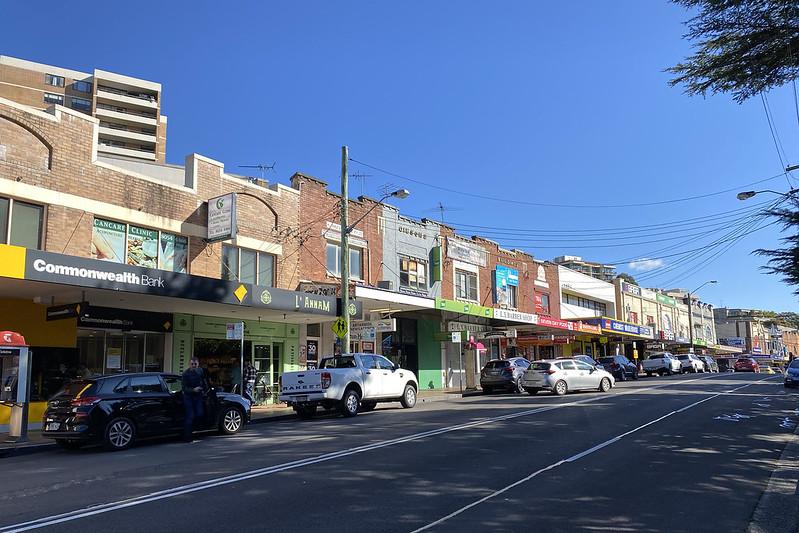 Hampden Road shops