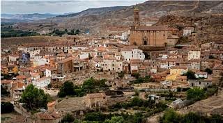 Vista panorámica de Fuentes de Jiloca Fotografía La comunidad de Calatayud