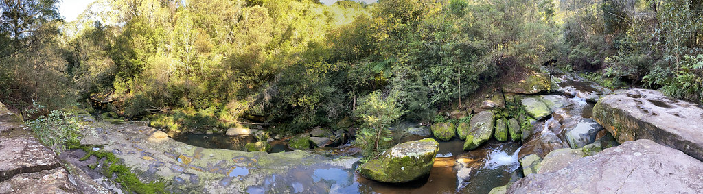 Flat Rock Creek panorama