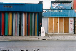 Shops, Denmark Hill, Camberwell, 1989 TQ3276-004