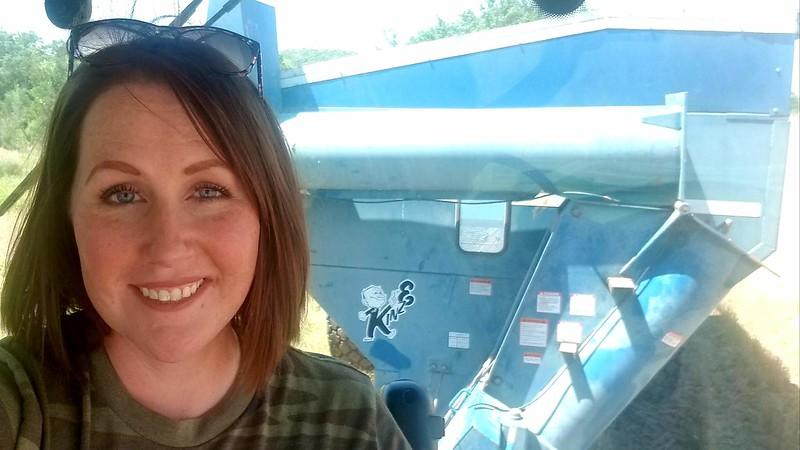 Grain Cart selfie!
