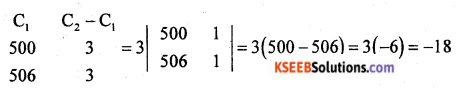 2nd PUC Basic Maths Model Question Paper 2 with Answers Q1