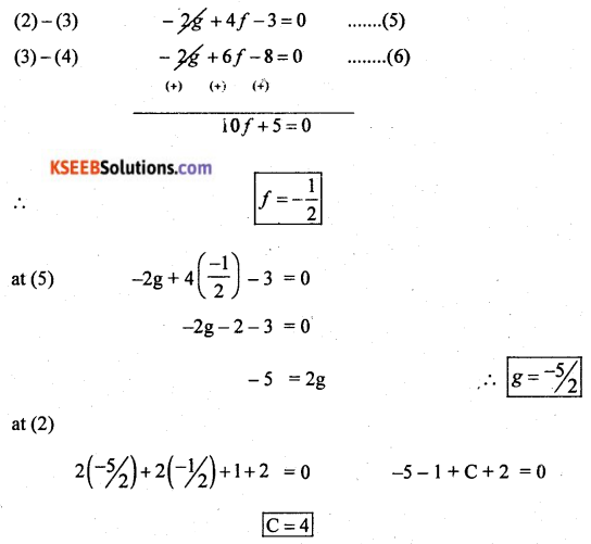 2nd PUC Basic Maths Model Question Paper 2 with Answers Q46