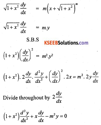 2nd PUC Basic Maths Model Question Paper 2 with Answers Q47.2