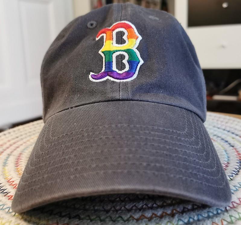 Boston Red Sox Pride Hat