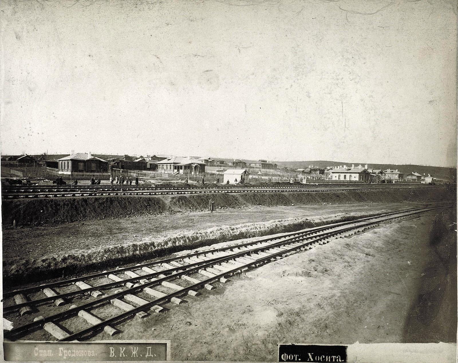 02. Станция Гродекова