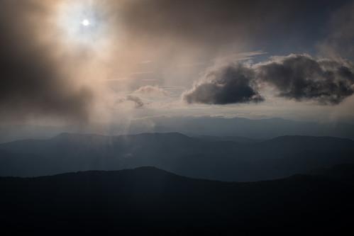 appalachianmountains clingmansdome greatsmokymountainsnationalpark smokymountains morning sky sunrise