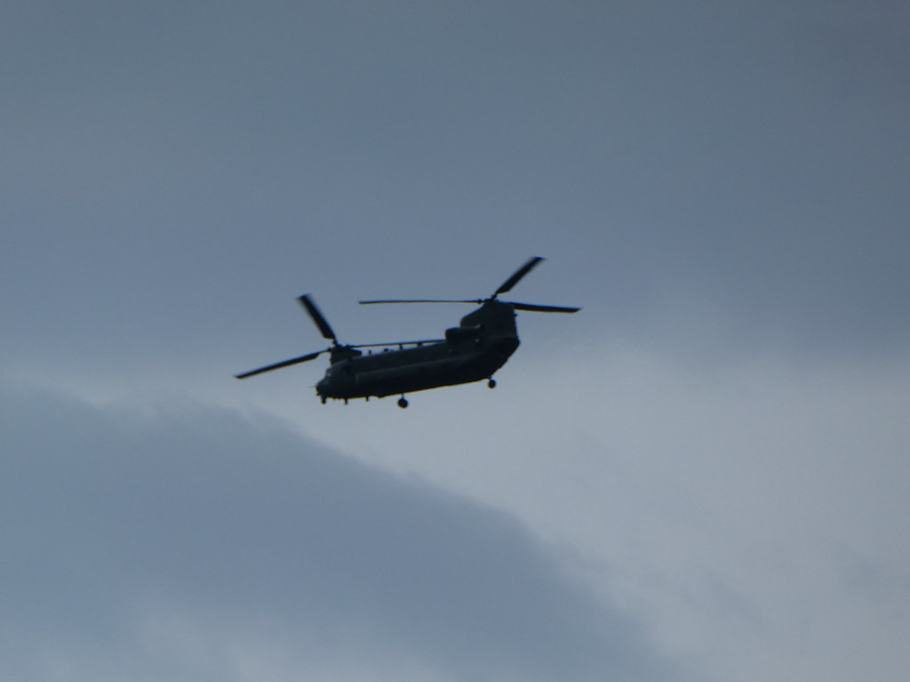 Chinook helicopter, RAF Odiham