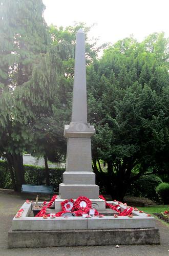War Memorial Burnopfield