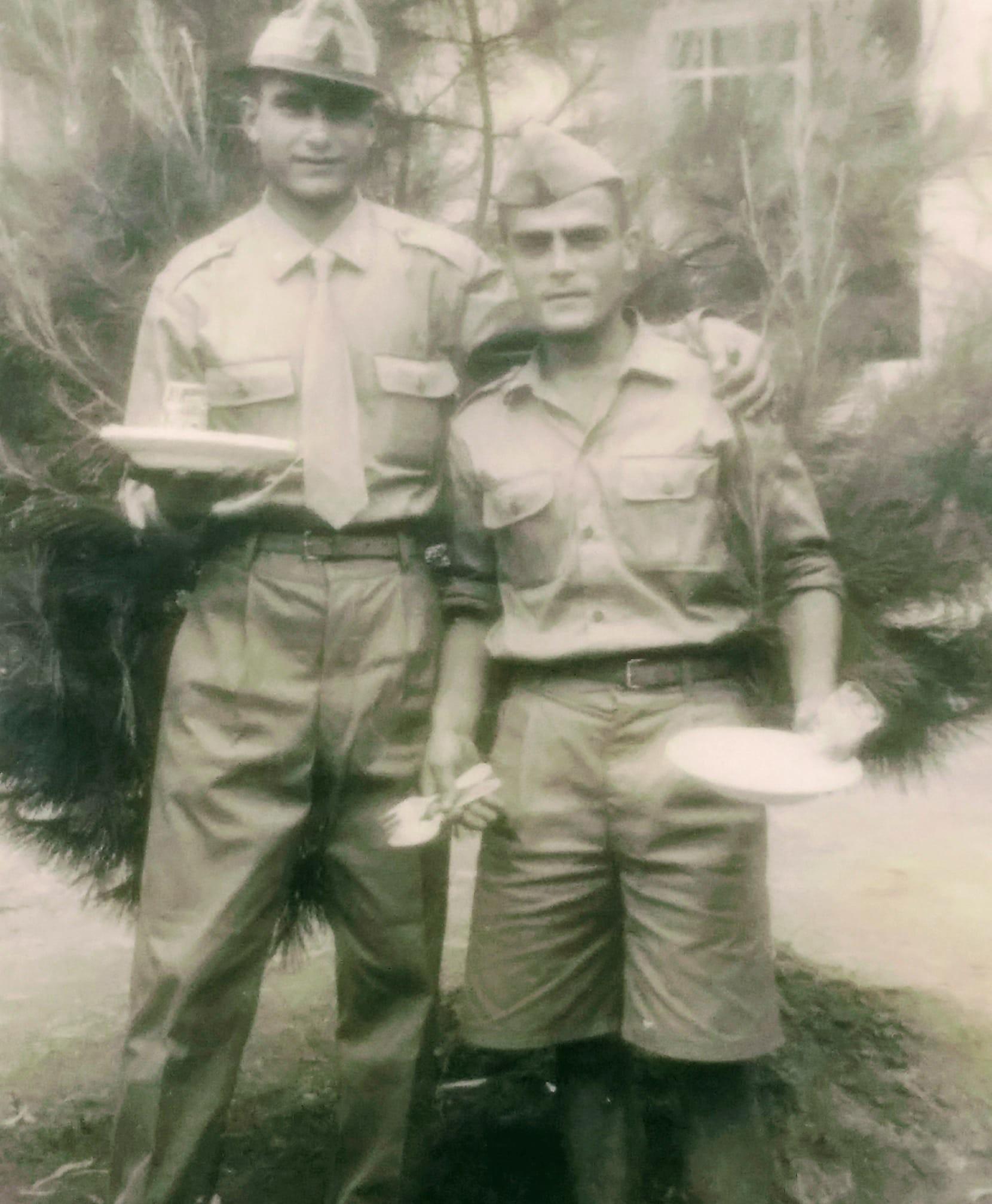 a destra Esposito Mario Padulese anno 1956