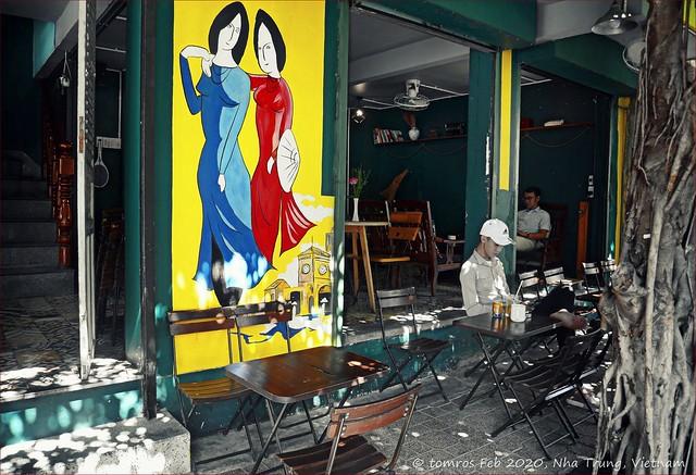 Boteo. My fave coffee shop. Nha Trang  in Feb 2020.