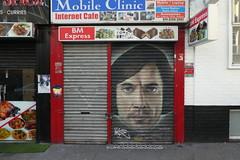 Akse graffiti, Shoreditch