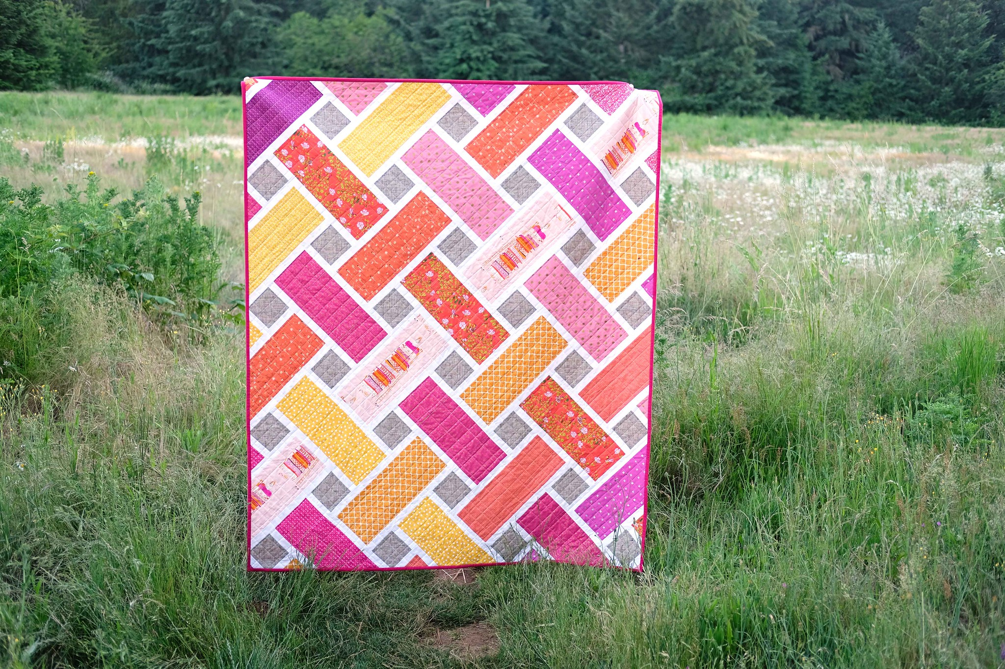 A Fairy Tale Tessa Quilt - Kitchen Table Quilting