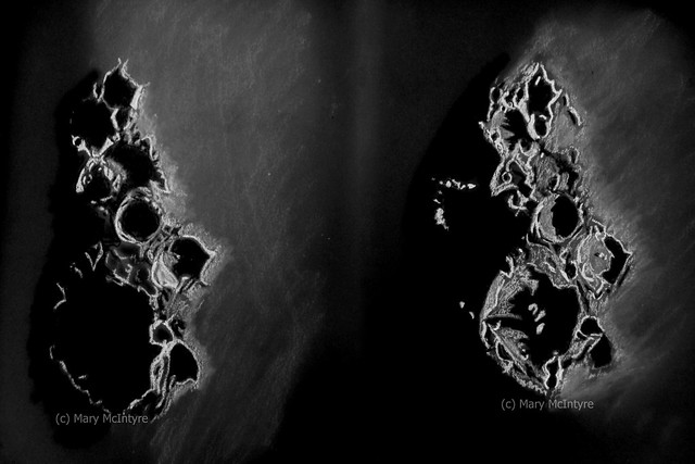 Sketches of the Lunar X Region