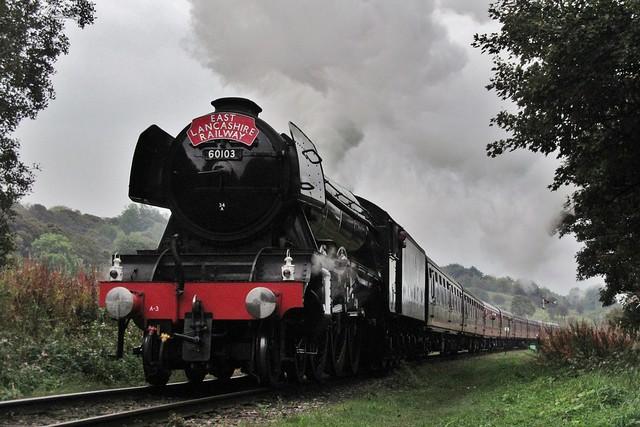 60103 'Flying Scotsman'   Duckworth Lane   East Lancashire Railway   15.10.2016
