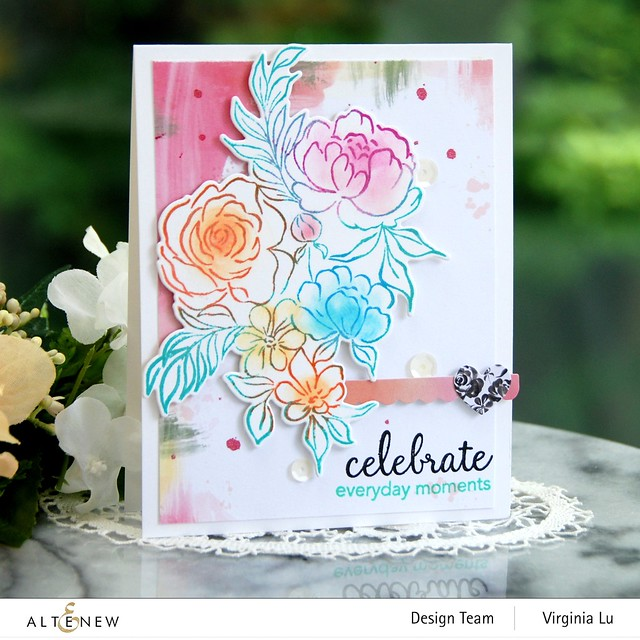 Altenew-Celebrate Today Stamp-Celebrate TodayDie-CelebratePaperPack#1