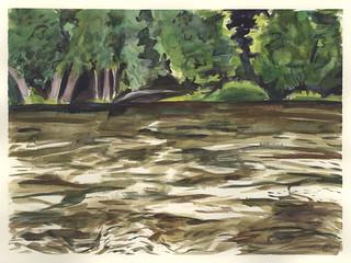 Cedar River, Rising