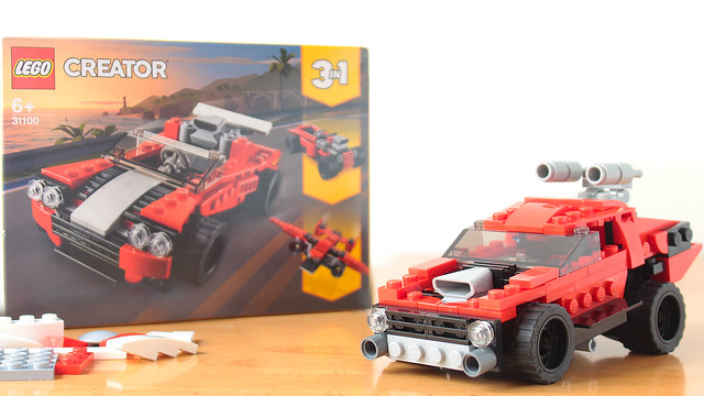 Mad Max car using the Creator 31100 set