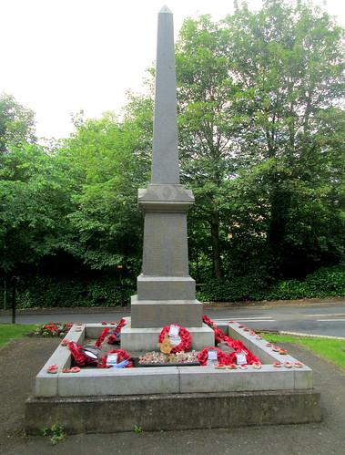 War Memorial, Burnopfield