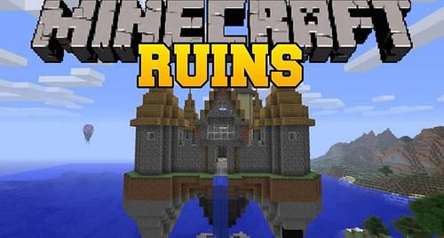Ruins Minecraft Mod for Minecraft 1.15.1/1.14.4/1.12.2/1.7.10