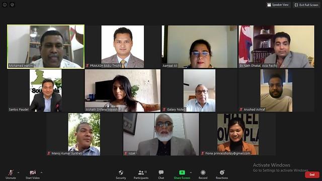 Nepal-2020-05-26-First South Asia 'Peace Talks' Webinar Focuses on the Maldives