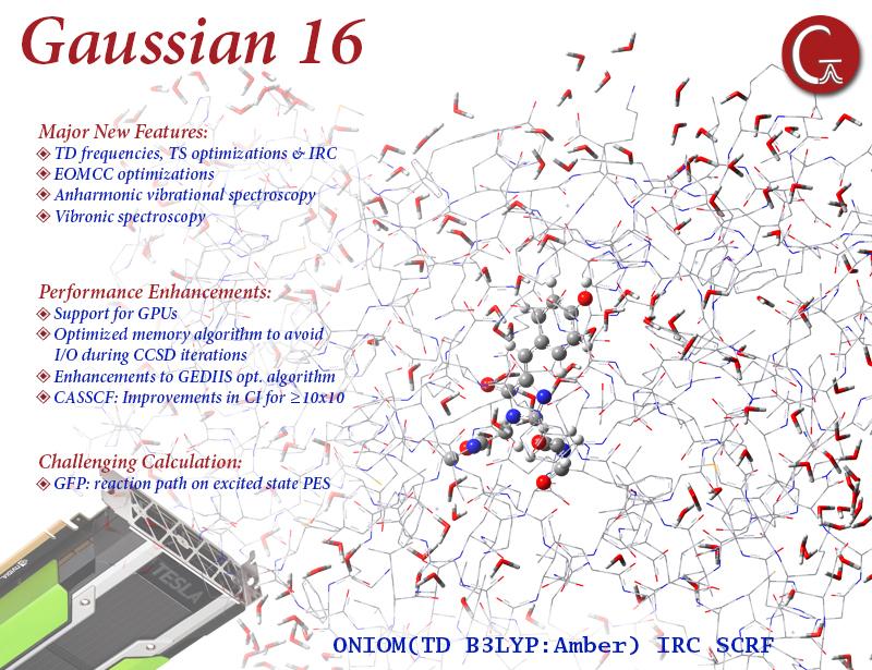 Gaussian 16 C.01 AVX x64 full license