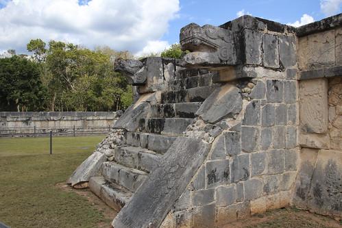Resort courtyard, Valentin Imperial Riviera Maya, Mexico