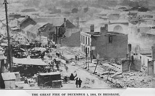 Great Fire of Brisbane 1864