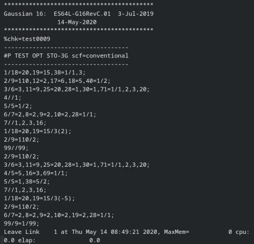 Working with Gaussian 16 C.01 AVX x64 full