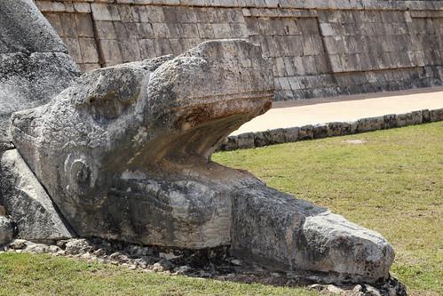 Platform of the eagles and jaguars, Chichen Itza, Mexico's Yucatán Peninsula