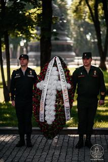 24.06.2020   Церемония возложения венков к мемориалу