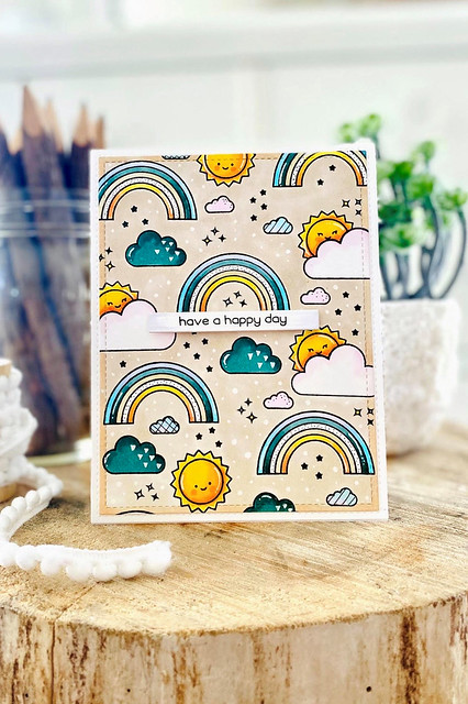 sunshine and rainbows (Lawn Fawn inspiration and release week)