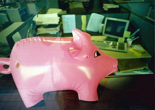 Pig, Office, Lower Thames St, City, 1991 TQ3280-031