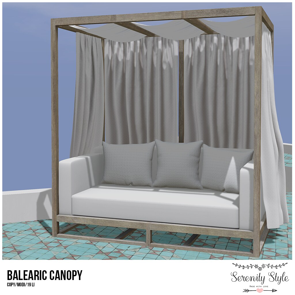 Serenity Style-Balearic Canopy