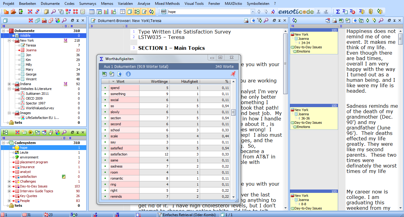 Working with MAXQDA 10.4.15.1 full license