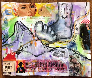 Art Journal J240 Flatten the Curve