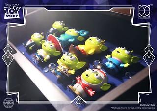 犯規的可愛之力~ HEROCROSS × 施華洛世奇《玩具總動員》水晶三眼怪官網限定豪華特別版套裝(HBB#005 Swarovski® Alien Remix Deluxe Boxset)情報公開!