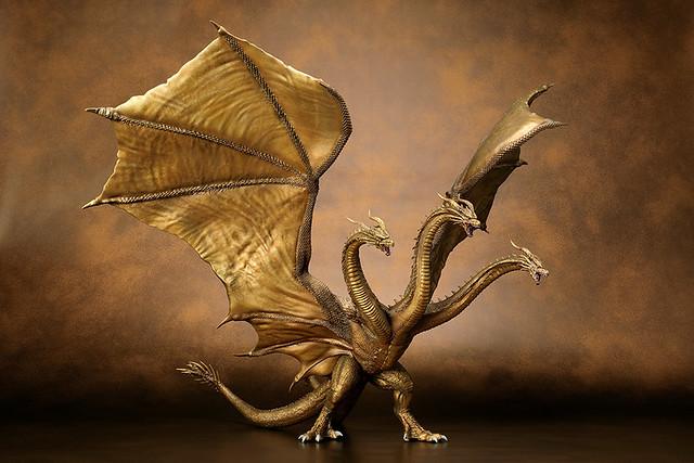 Art Spirits 超激造系列《哥吉拉2:怪獸之王》王者基多拉(2019)|キングギドラ(2019)原型公開!