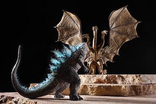 睽違 9 年推出新作  Art Spirits 激造系列第二彈《哥吉拉2:怪獸之王》|激造シリーズ ゴジラ2 上色原型公開!