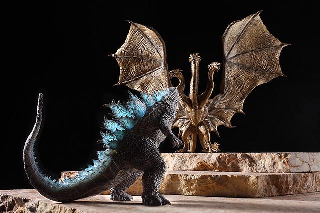 睽違 9 年推出新作  Art Spirits 激造系列第二彈《哥吉拉2:怪獸之王》 激造シリーズ ゴジラ2 上色原型公開!
